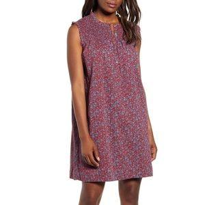 NWT Caslon Smocked Shift Dress Size L